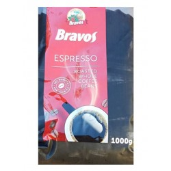 Cafea BRAVOS boabe 1 kg